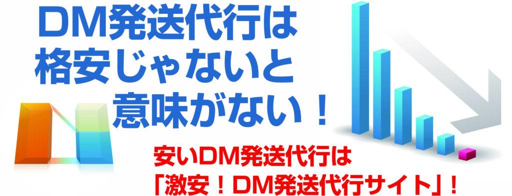 DM発送代行は格安じゃないと意味がない! 安いDM発送代行は「激安!DM発送代行サイト」! イメージ画像